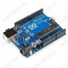 Контроллер Arduino UNO R3, в качестве эмулятора COM порта использован чип CH340G, вместо Atmega16U2.