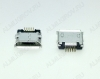 Разъем (389) MICRO USB 5pin гнездо на плату (5S2)