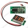 Вольтметр цифровой (4.5-30)VDC (3-Digit module RED LED)
