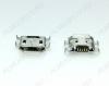 Разъем (3890) MICRO USB 5pin гнездо на плату (PU01)