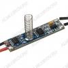 Микровыключатель-диммер SR-2901S-H20 сенсорный 12/24V; 3A; 42x10x21mm; реагирует на прикосновение к экрану, короткое нажатие - вкл/выкл, длинное нажатие - диммирование; для профилей h внутр=12-20мм
