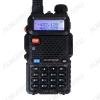 Радиостанция портативная  Baofeng UV-5R Диапазон частот: 136-174 МГц + 400-470 МГц; FM приёмник (87.0MHz-108.0MHz); фонарик