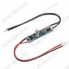Микровыключатель-диммер SR-2901S-H10 сенсорный (019939) 12/24V; 3A; 42x10x21mm; реагирует на прикосновение к экрану, короткое нажатие - вкл/выкл, длинное нажатие - диммирование; для профилей h внутр=7-12мм