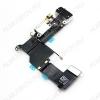 Шлейф для iPhone 5S + разъем зарядки + разъем гарнитуры черный Orig