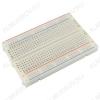 Макетная плата Breadboard 400, для монтажа без пайки  400 контактов; шаг 2.54мм