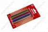 Термоклей d=7мм цветной с блестками (набор 12шт) (09-1025)