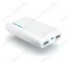 Аккумулятор внешний UNI 750, 7500 mAh Аккумулятор, кабель, коннекторы: Micro USB, Mini USB, Apple Lightning, Apple 30-pin + фонарик