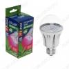 Лампа светодиодная (L268)  фито. LED-A60-9W/SP/E27/CL   ALM01WH