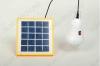 Комплект портативный для освещения SHTD-05 1.5Вт (1лампа) Солнечная панель с блоком управления со встроенной литиевой батареей(1500мАч / 3,7В с индикатором заряда), Светодиодная лампа 1,2Вт с выключателем.