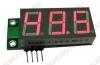 Радиоконструктор SAH0012R-50 цифровой встраиваемый амперметр постоянного тока красный индикатор Диапазон измеряемых токов 0..+50А,напряжение питания (фильтрованное) +6В..+20В (с радиатором до +35В),45х19х14мм,шунт в комплект не входит