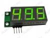 Радиоконструктор SAH0012G-50 цифровой встраиваемый амперметр постоянного тока зеленый индикатор Диапазон измеряемых токов 0..+50А,напряжение питания (фильтрованное) +6В..+20В (с радиатором до +35В),45х19х14мм,шунт в комплект не входит