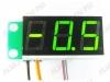 Радиоконструктор STH0014UG встраиваемый цифровой термометр с выносным датчиком, ультра-яркий зеленый Диапазон измеряемых температур -55°C..+125°C ,датчик DS18B20  с кабелем 5м, Напряжение питания (фильтрованное) +7В..+20В (с радиатором до +35В).