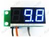Радиоконструктор STH0014UB встраиваемый цифровой термометр с выносным датчиком, ультра-яркий голубой Диапазон измеряемых температур -55°C..+125°C ,датчик DS18B20  с кабелем 5м, Напряжение питания (фильтрованное) +7В..+20В (с радиатором до +35В).