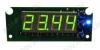 Радиоконструктор Термостат цифровой встраиваемый STH0024UG-v3 (зелёный, с выносным датчиком) Диапазон измеряемых температур -55°C..+125°C;Напряжение питания +7..+15 В; Коммутируемый переменный ток при 240В(постоянный при 28В)до 10 А