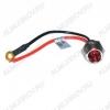 Лампа индикаторная R9-34L красная с кабелем 12В