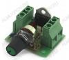 Радиоконструктор RP139 Регулятор мощности симисторный 5 кВт 220 В  Устройство для регулировки мощности нагревательных, осветительных приборов, коллекторных электродвигателей переменного тока, не более 25А