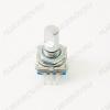 Энкодер а/м 5 pin с кнопкой (20) (R26) Вал 15 мм, металл, лыска, крепеж п/гайку
