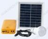 Комплект освещения E-Power HT-772Y(желтый) на солнечной батарее 2вт с двумя лампами по 1Вт, блоком управления с аккумуляторной батареей а так же для зарядки различных мобильных устройств.