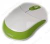 Мышь беспроводная 337AG-WN White/Green
