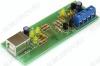 K-line адаптер USB, RAM226M для подключения ПК к диагностическому каналу (К или L -линии) (ЭБУ) автомобиля  по интерфейсу ISO-9141(ALDL)