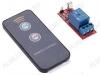 Радиоконструктор Реле с ИК-пультом RMC007 (коммутация 10А) удаленный выключатель который может управлять приборами и устройствами с током потребления до 10 А.