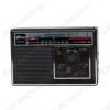 Радиоприемник RPR-191 УКВ 64,0-108.0МГц/АМ 530-1600кГц/СВ 3,6-22,МГц; Питание от 2xR20 или от сети 220В