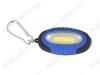 Фонарь брелок LED267-1 светодиодный с карабином 1LED COB; питание 2xCR2032(в комплекте)