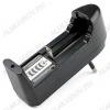 Зарядное устройство Charger 18650/14500/16340/123A для 1-шт Li-ion аккумуляторов 18650/14500/16340/123A. питание от сети 220в