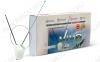 Антенна комнатная VIVA активная МВ/ДМВ/DVB-T2; 42dB с регулировкой; блок питания 5V; с кабелем 1.8м