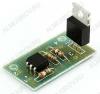 Радиоконструктор Ключ полупроводниковый переменного тока RP222 (10А) На входе устройства установлен оптосимистор с детектором пересечения нуля. В качестве силового элемента применён 10A симистор.