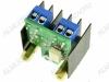 Радиоконструктор Ключ оптосимисторный 4А STK0046-4A (коммутация до 600В 4А)  (Распродажа) Коммутируемое переменное напряжение до 600 В, ток до 4 А. Напряжение изоляции 5 КВ. Ключ открыт при напряжении на входе 3,3..5,0 В, закрыт 0..1 В.