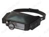 Лупа очки (х1.8/2.3/3.7/4.8) TK1008-2, с LED подсветкой и изменением кратности.  Кратность: 4.8х/1.8х/2.3х/3.7х