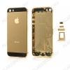 Задняя крышка для iPhone 5S золото
