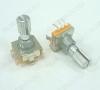 Энкодер а/м 5 pin с кнопкой (24) (R6a) Вал 16 мм, металл, накатка
