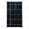 Солнечная панель монокристаллическая 100Вт (12В) Общая площадь - 0,71 м2; Размер - 1062*675*30мм; Вес -8,4 кг
