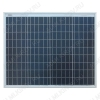Солнечная панель поликристаллическая 50Вт (12В) Общая площадь - 0,35 м2; Размер - 568*674*30мм; Вес -4,2 кг