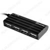 Разветвитель USB на 4 USB-гнезда SBHA-6810-K Черный