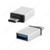Переходник (5095) USB 3.1 Type C штекер/USB A гнездо (OTG) (BS-508) USB2.0