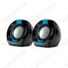 Колонки компьютерные Sven 150 черный/синий