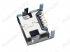 Разъем (3810) MICRO USB 5pin гнездо на плату угловой