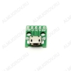 Модуль Плата-переходник Micro-USB (гнездо)