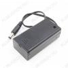 Отсек батарейный (тип 61) 6F22*1 кейс OFF-ON с выключателем, с проводом, штекер 5.5х2.1мм
