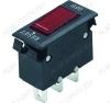 Сетевой выключатель-автомат KGZ-06/N 15A RESET-OFF красный 13,2*28,0mm; 15A/250V; 3 pin; для сетевых фильтров