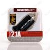 Автомобильное зарядное устройство с выходом USB черное 2100mAh (RCC101)