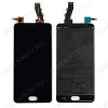 Дисплей для Meizu U10 + тачскрин черный