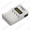 Зарядное устройство 90 для 1-4шт NiCd,NiMh R03/AAA, R6/AA, Vзар=1.4V 250-2000mA;