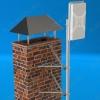 Кронштейн KSUM-220 стеновой для крепления мачт к стенам зданий и другим вертикальным конструкциям вылет от стены 220 мм, D мачты 25-52 мм, комплект из двух креплений