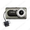 Видеорегистратор автомобильный ZOOM ULTRA DUO Full HD c 2-ой внешней камерой microSD - карта 8-256Gb; Li-ion аккумулятор; дисплей 4