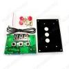 Радиоконструктор Термореле встраиваемое с лицевой панелью MP8030R (-50...+110°С) Питание, В 12-14; Диапазон контроля температуры, С -50 : +110 ;Максимальный ток переключения реле, А 10 Диапазон рабочей температуры, С -15 : +50С