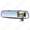 Видеорегистратор AV-601 зеркало с 2-ой выносной камерой microSD - карта 1-32Gb; Li-ion аккумулятор; дисплей 3,5